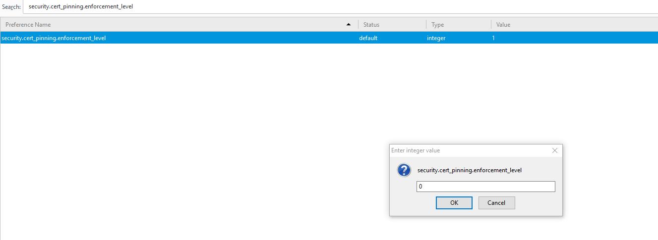 Firefox Pkix Error Key Pinning Error