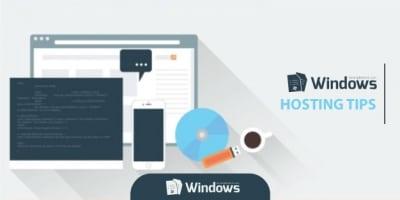 windows hosting tips
